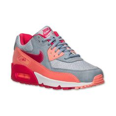cheap for discount bd5d5 2ddab Women s Nike Air Max 90 Running Shoes (7590 DZD) ❤ liked on Polyvore  featuring