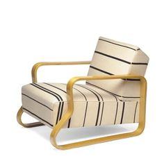 Alvar Aalto, armchair No. 44, 1935. Via Stedelijk Museum