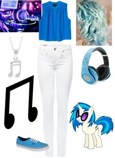 """DJ pon-3"" by patris321 ❤ liked on Polyvore"