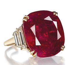 Chaumet, ruby and diamond ring