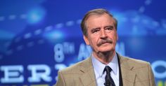 GLOBALIST VICENTE FOX BEGS AMERICANS TO STOP PRO-US TRUMP Fox once proposed merging U.S. into Mexico and Canada