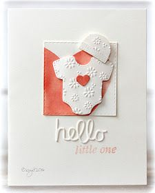 My card for the  CASology´s challenge  this week!     Cue word this week is STITCH     I´ve got my third grandchild, a lovely little girl, ...