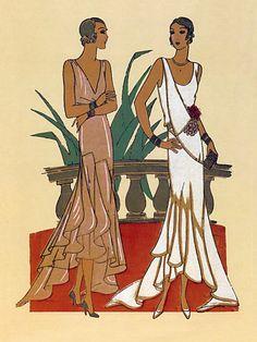 Fashion Illustration.  1929  Madame Wormser