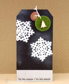 Tsuruta Designs: 25 days of Christmas tags: 'tis the season