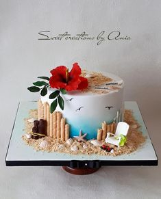 Summer cake by Ania - Sweet creations by Ania