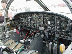 Cessna T-37 'Tweety Bird' Cockpit