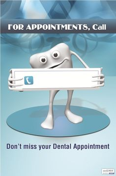 For Appointments Call Dental Logo, Dental Art, Dental Posters, Food Posters, Dental Extraction, Best Dental Implants, Dental Office Design, Teeth Care, Dentistry