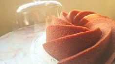 Almond Sugee (Semolina) Cake in a Bundt Pan