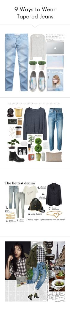 """9 Ways to Wear Tapered Jeans"" by polyvore-editorial on Polyvore"