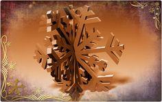 3D Snowflake by Matthew1.