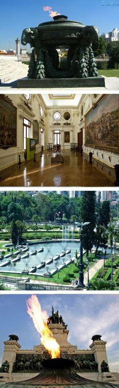 Interior do Museu do Ipiranga, São Paulo, Brazil