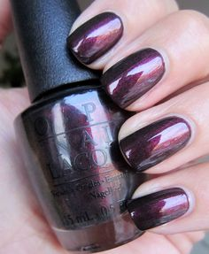 NAILTASTIC: OPI Muir Muir On the Wall
