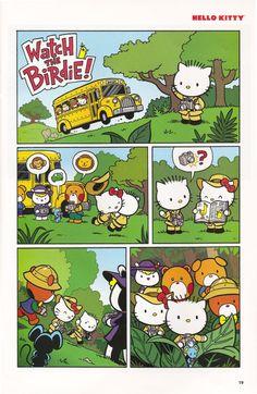 c4b5df012 Hello Kitty Art, Sanrio Hello Kitty, Free Comic Books, Sanrio Characters,  Hello