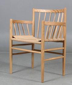 Jørgen Bækmark tremmestol, model J81. | Lauritz.com