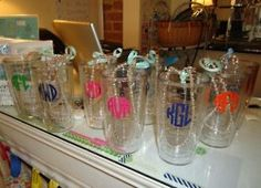 Tervis Tumblers...love love love.  Have five...I think :)