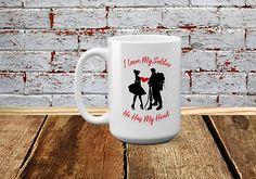 Army Wife Military Wife Mug Soldiers Girl Army Girlfriend