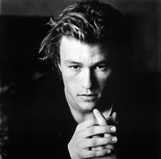 Heath Ledger!!!! Can you believe this beautiful man was the joker????