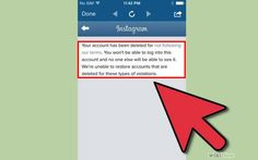 Learn Why Instagram Deletes Users