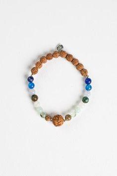 Dreamland Surf Bracelet White Moonstone, Blue Lace Agate, Diy Accessories, Surfing, Beaded Bracelets, Gemstones, Yoga Mala, Silver, Jewelry