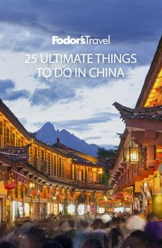 China's breadth is incredible, stretching from the East China Sea all the way west to Central Asia. To try and see everything would be overwhelming, but tackle this list of 25 fantastic China experiences and you'll have stories to tell for years to come. #china #travel #asia