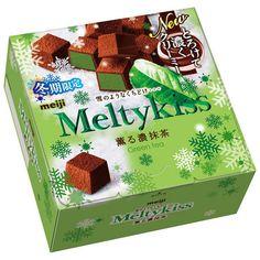 Meiji Meltykiss Chocolate Melty Kiss Cubes Rich Matcha Green Tea Premium Japan