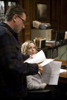 Tim Roth in rehearsal for Lie to me