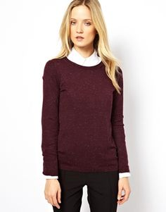 Image 1 of Whistles Annie Sparkle Sweater. Asos