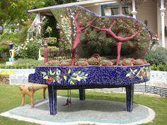 mosaic piano