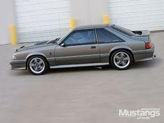 Silver Mustang GT