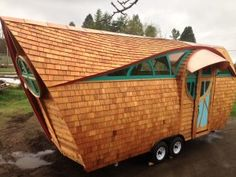 The Arc Tiny House on Wheels by Abel Zimmerman Zyl of Zyl Vardos