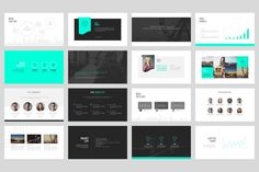 Portfolio | PowerPoint Template | Template and Editorial design