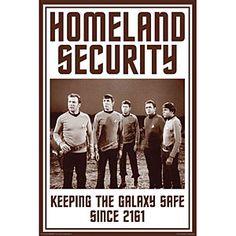 Homeland Security #StarTrek
