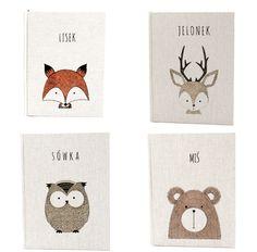 The cutest animals ever <3  #notebook #handmade #bookbinding #notes #pracowniazeszytow #notebooksdesign