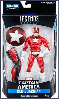 Red Guardian from Marvel Legends - Infinite Series - Giant Man Series…