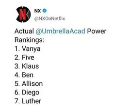 My ranking is Worst: Luther; Netflix, World Quotes, Marvel, Book Show, Pretty Little Liars, Siblings, Rest, Love You, Fandoms