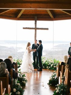 A slice of Italy in Missouri: An intimate wedding with a grand View | Missouri Real Weddings - ERIN WILSON PHOTOGRAPHY | Magnolia Rouge: Fine Art Wedding Blog | Romantic Wedding Photos | Wedding Ceremony | Wedding Venues