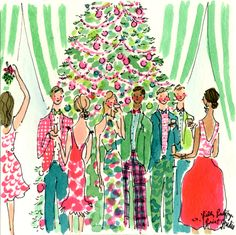 Making MERRY everywhere we go. Merry Christmas! #lilly5x5