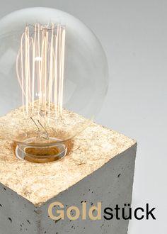 Flyer Lampe Goldstück Seite 1