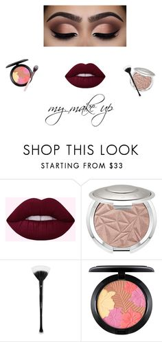 """""""my make up"""" by natalyholly on Polyvore featuring beauty, Lancôme, MAC Cosmetics and Luxie"""