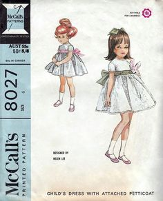 McCall's 8027 by Helen Lee © 1965.