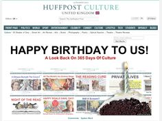HAPPY BIRTHDAY TO US!   A Look Back On 365 Days Of Culture