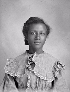 Here is a rare photo collection of American-African young girls from 1840s to 1890s.