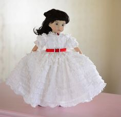"SOLD ""Beautiful Scarlett""Civil War Dress,Outfit,Clothes for 13""Effner Little Darling #ClothingAccessories"