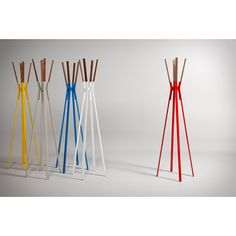 $329 All Modern - Blue Dot Splash Coat Rack