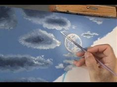 How to Paint a Night Sky - Free Painting Lessons by Acrylic Artist Brandon Schaefer - YouTube