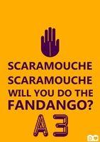 Poster Scaramouche para download grátis // palavras-chave: faça você mesma, DIY, inspiração, decoração, ideias, parede, poster, gratis, download