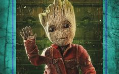 Download wallpapers Baby Groot, 4k, 2017 movie, art, Guardians Of The Galaxy Vol 2