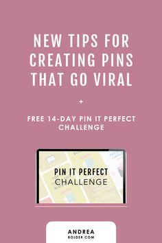 New tips for creating pins that go viral Make Money Blogging, How To Make Money, Blogging Ideas, Pinterest Board Names, Blog Topics, Blog Images, Pinterest For Business, Blogger Tips, New Tricks