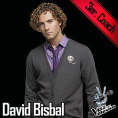 David Bisbal coach de La Voz México