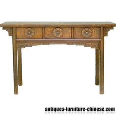 Vintage Asian Furniture Classic Porch Desk Asian Furniture, Home Decor Furniture, Antique Furniture, Furniture Ideas, Asian House, Asian Decor, Asian Style, Sofas, Entryway Tables